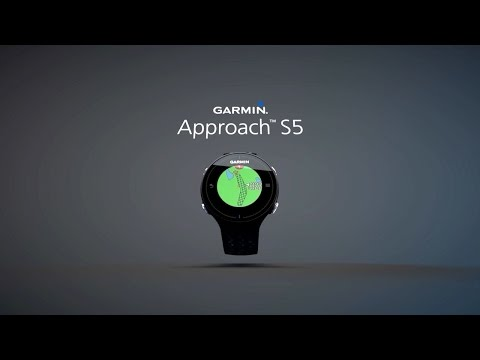 Garmin Approach S5: Full Color Touchscreen Golf GPS Watch