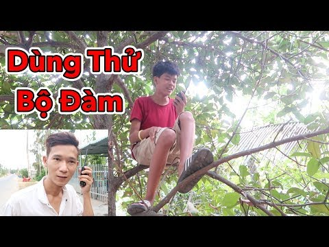 Lâm Vlog - Lần Đầu Dùng Thử Bộ Đàm và Cái Kết - Thời lượng: 10 phút.