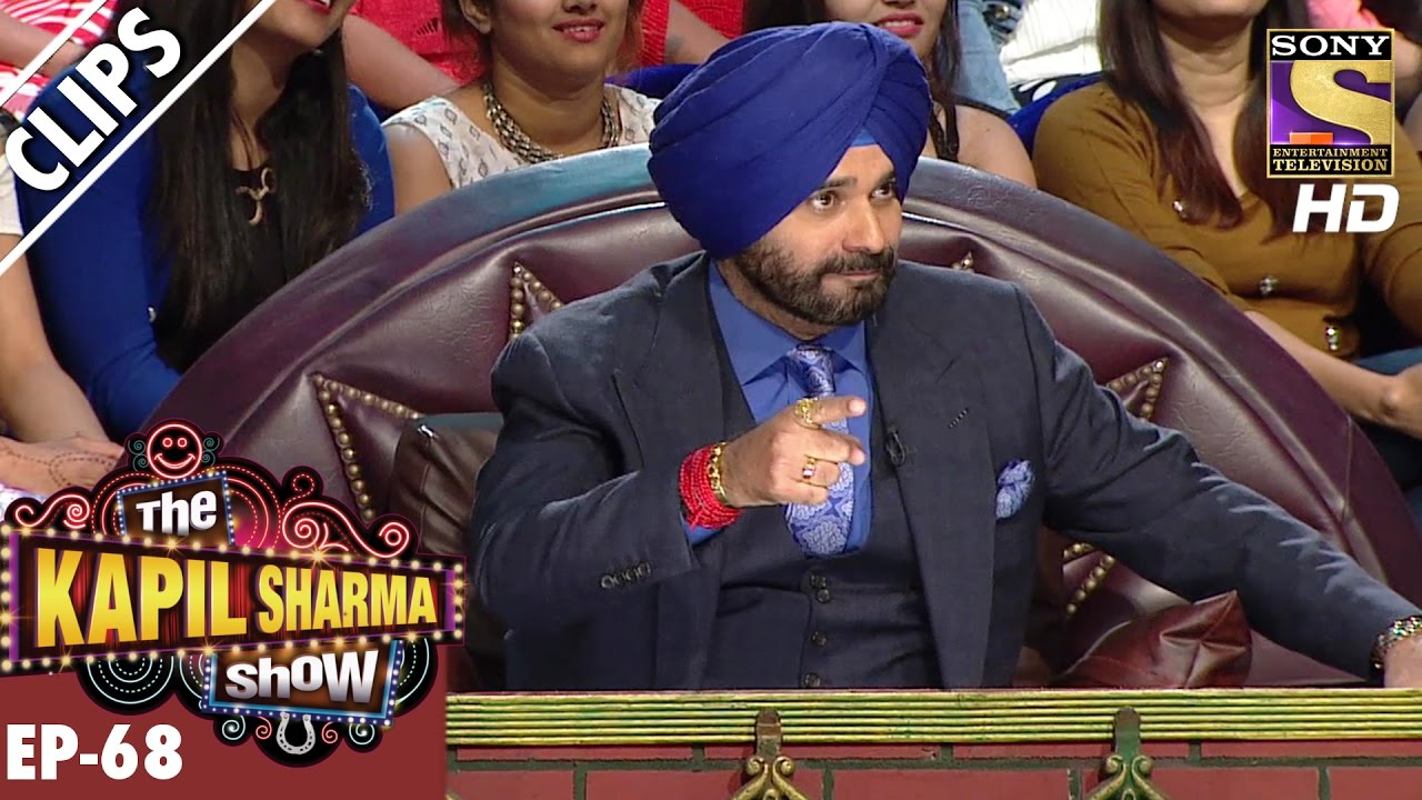 The Rhyming Game between Anu Malik and Siddhu Paaji – The Kapil Sharma Show – 18th Dec 2016