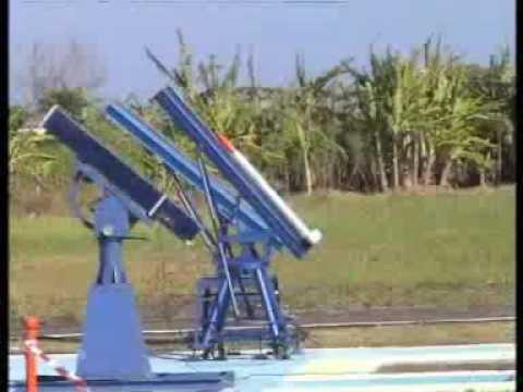 indonesian rocket flight test
