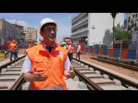 Les rails des lignes Casatramway T3 et T4 prennent forme