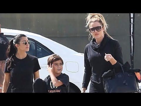 Khloe Kardashian Spends Afternoon With Family As News Of Kylie's Pregnancy Makes Headlines
