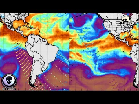ANOMALOUS Energy Waves Coming From Antarctica 8/12/17