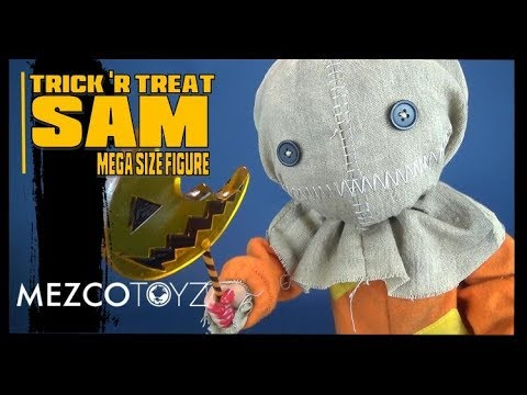"Spooky Spot 2018 | Mezco Toyz 15"" Mega Scale Trick 'r Treat Sam Figure"