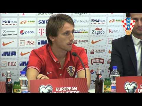 Izbornik Kovač i Luka Modrić najavljuju utakmicu s Azerbajdžanom