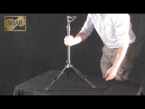 Video - Peak Folding Cello Stand | PCS20