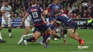 Rebels v Crusaders Super Rugby Rd.12 2018 Video Highlights