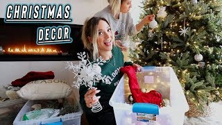 decorating for christmas + my vlog setup!! vlogmas day 1 by Alisha Marie Vlogs