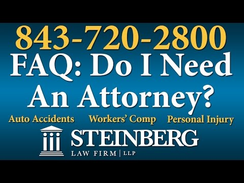Do I Need a Workers' Comp Attorney? – Charleston Lawyers – 843-720-2800