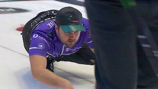 Matt Dunstone makes early curling shot of the year image