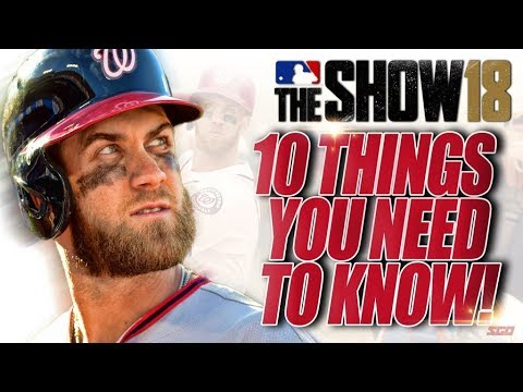 MLB The Show 18 - 10 Things You NEED TO KNOW Before You Buy (видео)