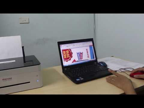 Video giới thiệu máy in ricoh SP 150SU và demo khả năng print, scan, photocopy