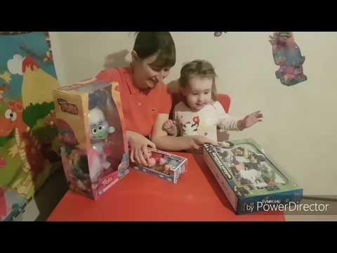 Щенячий патруль Свинка Пеппа Тролль Алмаз ИГРУШКИ Распаковка Видео распаковка Обзор игрушек