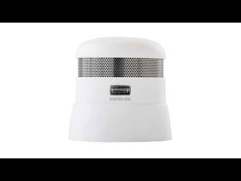 First Alert 10-Year Sealed Battery Atom Photoelectric Micro Smoke Alarm (P1010)