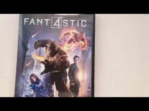 Fantastic Four (2015) DVD Unboxing.