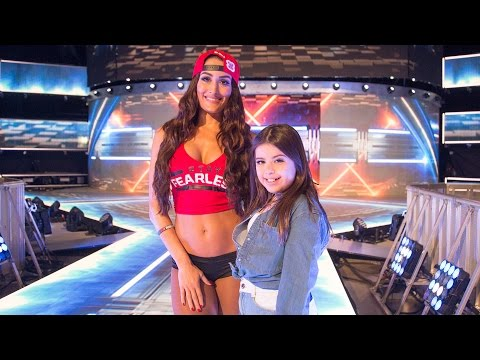 The Bella Twins go behind the scenes at Sophia Grace's new music video