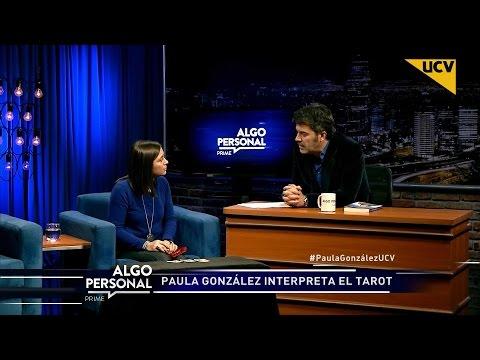"""video Paula González interpreta el tarot a Juan Carlos """"Pollo"""" Valdivia"""