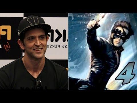 Hrithik Roshan Reaction On Krrish 4 release date