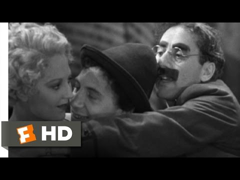 Horse Feathers (7/9) Movie CLIP - Three's a Crowd (1932) HD