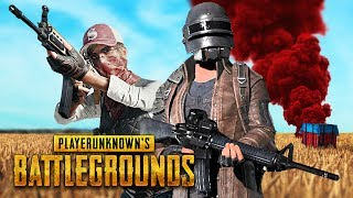 """Player Unknown Battlegrounds duos with my girlfriend! Thumbs up for more Battlegrounds!► Subscribe for more daily, top notch videos!  ► http://bit.ly/SubToTG► Previous video! ► https://www.youtube.com/watch?v=H9zrP5q0sNA&list=PLF12pDRgJ2PYUOKbaL5aCSvei3a2f43rE&index=25Description of Battlegrounds from their website: """"Our BATTLE ROYALE game-mode will put up to 100 players on a remote island for a winner-takes-all showdown where strategic gameplay is as important as shooting skills. Players will enter a last-man-standing battle where they try to locate weapons, vehicles and supplies in a graphically and tactically rich battleground that eventually forces players into a shrinking play zone as they engage in a tense and spectacular fight to the death.""""Check out Samara's channel here: https://www.youtube.com/c/samararedwayFollow me on Twitter: https://www.twitter.com/typicalgamerFollow me on Instagram: https://www.instagram.com/typicalgamerytLike me on Facebook: https://www.facebook.com/typicalgamerAdd me on Snapchat: https://www.snapchat.com/add/typicalsnapsLet's keep the comment section AWESOME to ensure everyone has a good time. Be sure to ignore or dislike negative or hateful comments. With your help we can continue to build an awesome community! Thanks and enjoy!If you enjoyed the video & want to see more Battlegrounds, press that Like button!"""