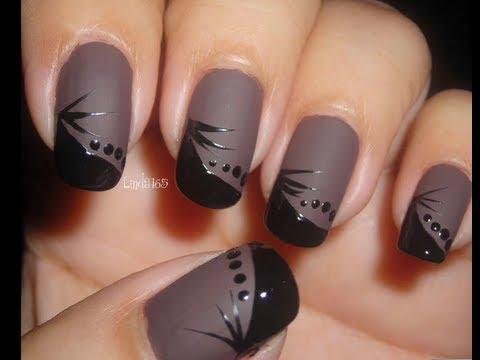 nail art - nero profondo elegantissimo