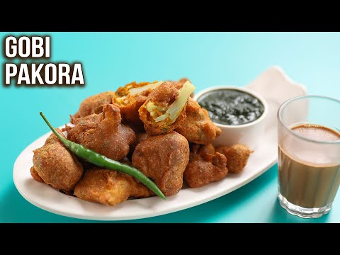 How to Make Gobi Pakora | Crispy Gobi Pakora Recipe | MOTHER's RECIPE | Cauliflower Pakoda