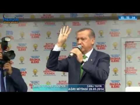 Başbakan Ağrı Miting Konuşması