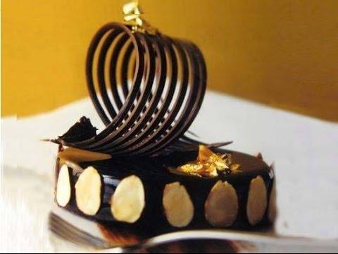 come realizzare decorazioni in cioccolato