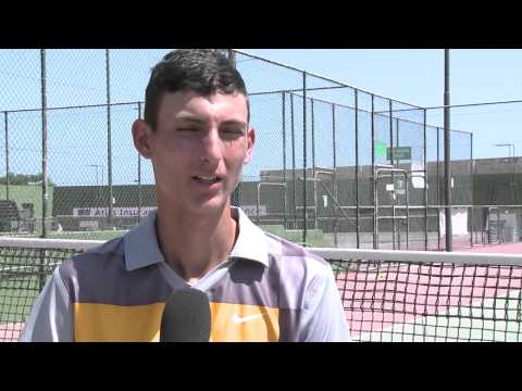 Interview(Maltse)Pt1 - about Raphael age: 16 Training hard from the age of six, Raphael is a promising young Maltese tennis player. He trains hard with his coach, Marco Cappello, a...