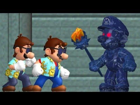 New Super Mario Sunshine - All Bosses (видео)