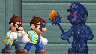 All Bosses in New Super Mario Bros Wii using the Super Mario Sunshine Mod (1080p & 60fps)   Enjoy - Rate - Comment - Subscribe =) ►Activate the description for the order of the bosses!!00:00 Intro00:30 Light Blue Shadow Mario01:44 Purple Shadow Mario03:01 Orange Shadow Mario04:23 Violet Shadow Mario06:10 Shadow Mario #1Green Shadow Mario: https://youtu.be/nU2r_OEOPtM06:47 Black Shadow Mario07:54 Shadow Mario #208:42 Dark Blue Shadow Mario10:03 Shadow Mario #3This mod was created by StupidMarioBros1FanCheck out his channel: https://www.youtube.com/user/StupidMarioBros1FanAll boss battles of New Super Mario Sunshine Wii in 1080p and 60fps►No Commentary Gameplay by ProsafiaGaming (2017)◄