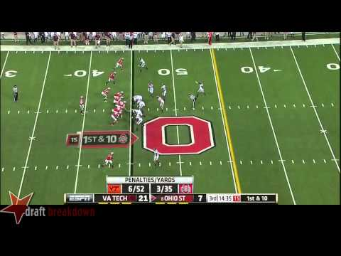 Dadi Nicolas vs Ohio St. 2014 video.