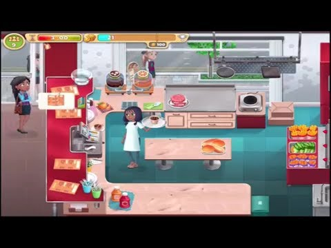COOKING DIARY IOS Gameplay Video | First Levels 3 Stars