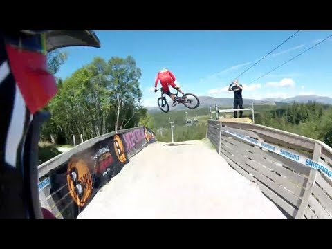Mountain Bike News - This Is Peaty – Fort William 2013 – Drift HD Helmet Cam Run