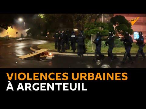 Nuit de chaos à Argenteuil, des policiers visés par des tirs de mortier