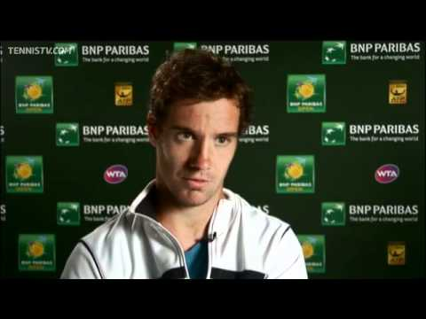 Entrevista a Richard Gasquet  Indian Wells 2011