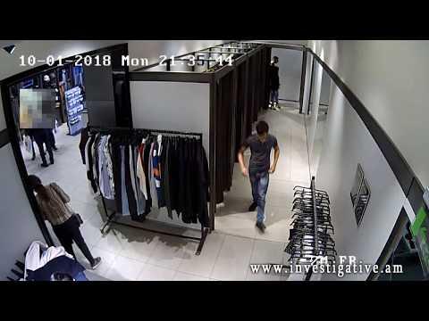 Գողության փորձ՝ հագուստի խանութից (տեսանյութ)