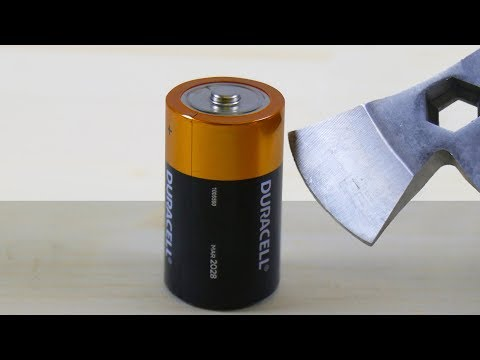 AXE vs LITHIUM BATTERY