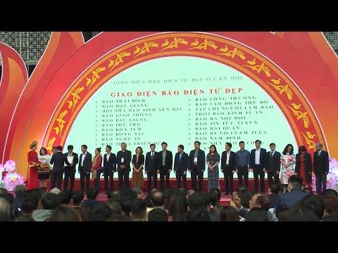 Bế mạc Hội Báo toàn quốc 2019: Vinh danh những thành tựu báo chí cả nước