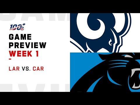 Los Angeles Rams vs. Carolina Panthers | Week 1 Game Preview | Move the Sticks