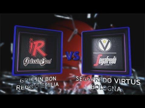 Virtus, gli highlights del match contro Reggio Emilia