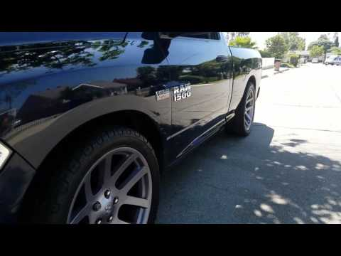 2014 dodge ram 2/4 with SRT wheels 22'