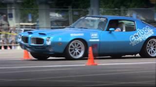 Carbon Kustoms Cochise Running the Autocross in Nashville