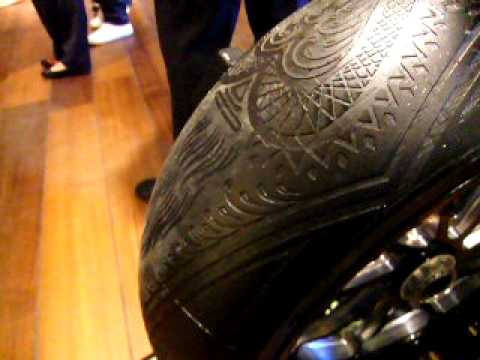 0 Scott Campbell x Pirelli   Tire Sculpture | Video
