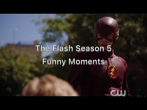 The Flash Season 5 Funny Moments Part 1