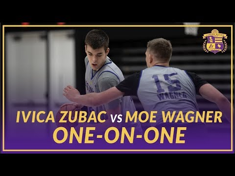 Video: Lakers Practice: Ivica Zubac and Moe Wagner Play One-on-One After practice