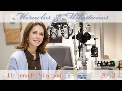 Dr. Jennifer Simpson and her work on corneal cystinosis