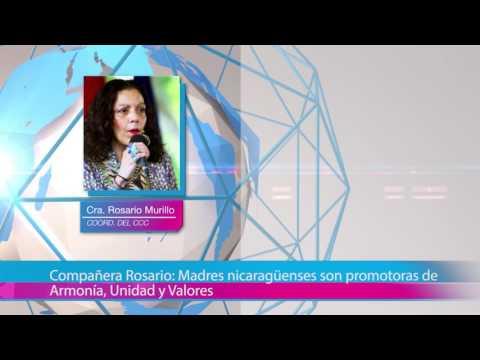 Compañera Rosario: Madres nicaragüenses son promotoras de Armonía, Unidad y Valores