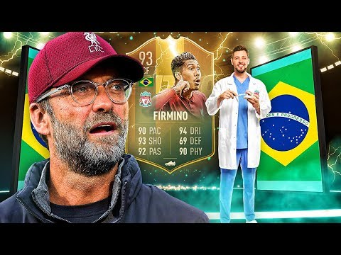 THE BEST BOBBY EVER?! 93 TOTS FLASHBACK FIRMINO PLAYER REVIEW! FIFA 19 Ultimate Team