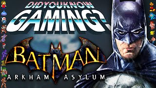 Video Batman Arkham Asylum - Did You Know Gaming? Feat. WeeklyTubeShow MP3, 3GP, MP4, WEBM, AVI, FLV Maret 2018